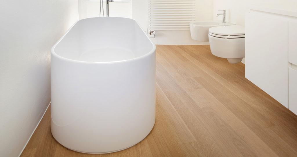 Installazione parquet in bagno Venezia Mestre | DIMAX Parquet